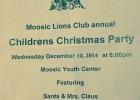 Community Children's Christmas Party