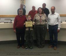 Cub Scout Arrow-of-Light Award: