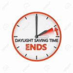 Daylight Savings Time Ends: November 1 , 2020